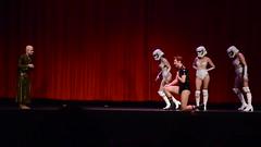 Snoke displeased (VancouverGeek) Tags: geekenders thelustjedi boobs bums junk pasties dance burlesque starwars video