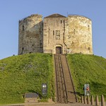Clifford's Tower in the dawn light. thumbnail