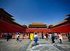 Entering the Forbidden City in Beijing, China (` Toshio ') Tags: toshio beijing china meridiangate entrance forbiddencity asia asian chinese palace people tourists tourism fujixt2 xt2