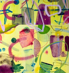 Abstract composition (Natasha Davydova) Tags: art artwork painting picture cardboard object line abstract abstraction collage mixed media paper watercolor
