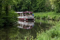 Canal d'Ille et Rance à Léhon (Oric1) Tags: oric1 canal dinan léhon reflet eau water nature tourisme bretagne brittany breizh jeanlucmolle