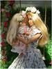 Happy Mother´s Day (Mary (Mária)) Tags: barbie mattel love doll happy mother day happymother´sday daughter xoxo toys swing pergola flower headband photography photoshoot dollphotography dollcollector dollphotographer handmade etsy barbiebasic diorama miniatures marykorcek