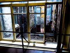 A window to another world (pilot3ddd) Tags: stpetersburg ligovskyprospect yards window ruins olympusomdem5markii olympusmzuiko1240mmf28pro
