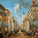 Decoration of the Calle Platerias for the Entry of Charles III in Madrid - Lorenzo Quirós