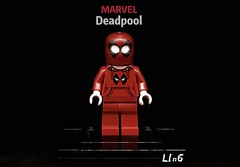 Deadpool (L1n6zz) Tags: firestartoys marvel lego deadpool leyilebrick