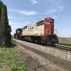 Soo and Jordan (MILW157) Tags: soo jordan spreader mow row nashotah siding cp rail canadian pacific railroad watertown sub train