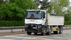 PO16 FBA (Martin's Online Photography) Tags: renault seriesc tipper truck wagon lorry vehicle freight haulage commercial transport a580 leigh lancashire nikon nikond7200