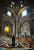 Interior of Basilica di San Pietro in Vaticano (leo.sarno) Tags: church vaticano italia italy history arquitectura architecture art canon religion