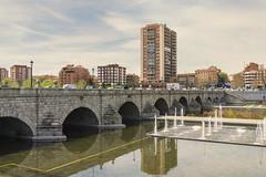 Puente de Segovia y Parque Lineal del Manzanares (ninestad) Tags: