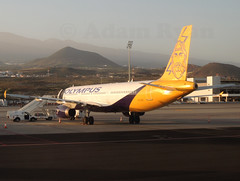 SX-ABY - Olympus Airlines A321 (ex Monarch G-MARA) (✈ Adam_Ryan ✈) Tags: monarch monarchairlines a321 tfs tenerifesouth tenerife airport sxaby olympus airlines olympusairlines exmonarch gmara 2018 april