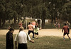Local football game (Alexander-_-Laz) Tags: russia buryatia babushkin ball soccer football game sport people young old man grass dirt tree park playground action motion movement playing