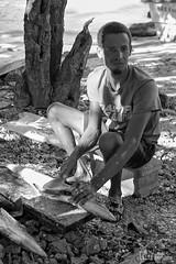 Pescador (..Javier Parigini) Tags: republicadominicana rd puntacana bávaro playa arena oceano mar ocean sea beach palmeras palm nikon nikkor d4 paisaje landscape seascape sun sol javierpariginifotografiaflickr retrato portrait people gente pescador