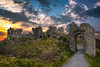The Rock of Dunamase (Ray Moloney Photography) Tags: ifttt 500px castle landmark historic historical fortress fortification county laois ireland dunamase rock leinster ancient ruins stronghold rocks sky sunset blue green orange stone walls windows arches raymoloneyphoto