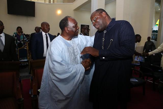 Gen. Gowon's NIGERIAN PRAYS in Bayelsa