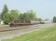 DSC06367R (mistersnoozer) Tags: lal shortline railroad rr rgvrrm excrusion train alco locomotive c425 c420