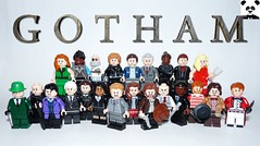 Gotham - Season 3 (Random_Panda) Tags: lego figs fig figures figure minifigs minifig minifigures minifigure purist purists character characters comics superhero superheroes hero heroes super comic book books films film movie movies tv show shows television gotham jim gordon bullock harvey riddler penguin zsasz joker the jerome batman bruce wayne poison ivy hugo strange tigress barbara catwoman selina kyle executioner mad hatter jarvis tetch oswald cobblepot edward nygma falcone lee thompkins detective lucius fox villians villain