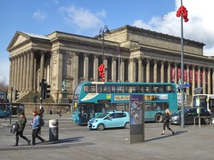 St George's Hall, Liverpool, England (PaChambers) Tags: st georges hall stgeorgeshall architecture liverpool england uk scouse merseyside gardens park urban limestreet city historic bus china