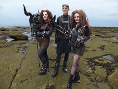Cast Away P1070187 (The Lure of Salvage) Tags: lureofsalvage lure salvage fishfork hollingworth whitby goth fest gothik wgw grimm little girl dark gothic strange eerie sexy kindness stranger beach april strangegothic 2018