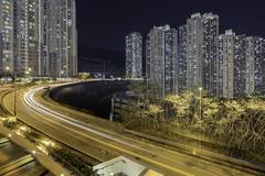 彩榮路 (spiraldelight) Tags: tse17mmf4l eos5dmkiv hong kong 香港 night traffic trails 牛頭角 九龍