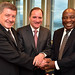 President Cyril Ramaphosa attends the meeting of the Global Commission of Future of Work