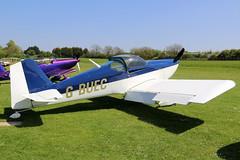 G-BUEC (GH@BHD) Tags: gbuec vans rv rv6 pophammicrolighttradefair2018 pophamairfield popham aircraft aviation microlight
