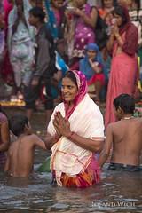 Varanasi (Rolandito.) Tags: asia asien asie north northern india indien inde varanasi benares ganga river uttar pradesh portrait woman