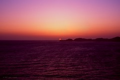 Sunset Over Point Bonita from San Francisco (Raphe Evanoff) Tags: san francisco film california urban landscape