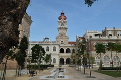 Interesting mix of styles (m_artijn) Tags: tower colonialist islamic architecture kuala lumpur mys building sultan abdul samad mixed style