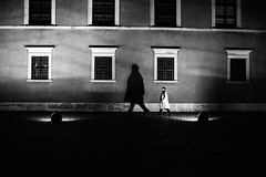 The Shadow Knows 238.365 (ewitsoe) Tags: 50mm canoneos6dii city cityscape ewitsoe spring warszawa erikwitsoe night streetphotography urban warsaw mono monochrome blackandwhite bnw street longshadows feel vibe vibrant evenign maninatrenchcoat spy classic
