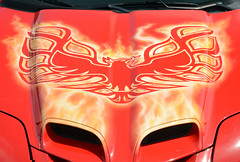 The Phoenix rises from the ashes (Brad Harding Photography) Tags: 2002 firebird transam firebirdtransam phoenix freehand artwork ameristarcasino streetcartakeoverkickoffparty