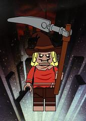Scarecrow (Ashnflash98) Tags: lego batman animated series scarecrow jonathan crane