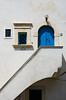 """""""A blue door"""" (emanuelezallocco) Tags: peschici gargano puglia italia italy door porta blue blu city village sea adriatic"""