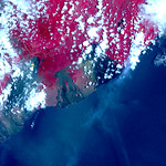 NASA Satellite Images Show Fissures from Hawaii Volcano thumbnail