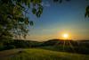 Vöckelsbach (jochenpecher) Tags: hessen deutschland odenwald sunset sunstar irixlens sony alphaddicted