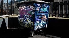 85 Days Later (Sean Batten) Tags: london england unitedkingdom gb leakestreet thetunnel bin waste waterloo graffiti rubbish nikon d800 35mm city urban