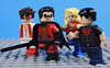 Teen Heroes (-Metarix-) Tags: lego minifig dc comics comic teen titans young justice impulse red robin wondergirl superboy custom minifigs