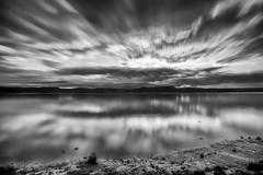 Lumière du matin  sur le Saguenay (gaudreaultnormand) Tags: canada leverdesoleil longexposure longueexposition monochrome quebec rivière saguenay sunrise paysage ciel eau pierre