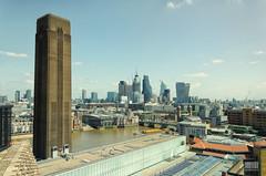 Londres (Uxío Rivas) Tags: londres londo tate museo skyline