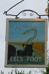 Eel`s Foot Inn, Eastbridge. (piktaker) Tags: suffolk pub inn bar tavern pubsign innsign publichouse adnams eastbridge eelsfootinn