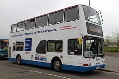 East Yorkshire Motor Services: 9918 546EYB Volvo B7TL/Plaxton President (emdjt42) Tags: eyms 9918 w448wgh volvo plaxtonpresident 546eyb 500group middlesbrough