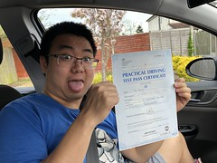 Massive congratulations Tao Jiang passing your driving test with only 2 faults!  www.leosdrivingschool.com