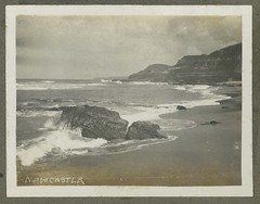 Newcastle Beach, N.S.W. (maitland.city library) Tags: newsouthwales fred harvey sea seaside ocean
