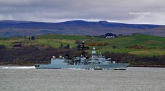 FGS Lubeck (Zak355) Tags: jointwarrior navy exercise scotland scottish frigate ship boat vessel warship riverclyde fgslubeck f214