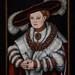 Lucas Cranach the Elder, Portrait of Magdalena of Saxony, Wife of Elector Joachim II of Brandenburg, c 1529 1/27/18 #artinstitutechi