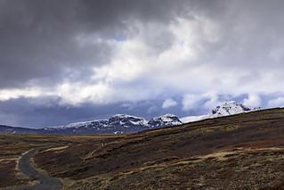 Norðan Lyngdalsheiðar við Laugarvatnsvelli