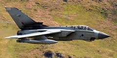 RAF Panavia Tornado GR4 'Monster 2' ZA591 (James L Taylor) Tags: raf panavia tornado gr4 monster 2 za591 from marham cad west mach loop 30418