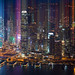 The Financial District Of Hong Kong