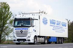 MB Actros 1848 MP4 BigSpace / Westukrtrans (UA) (almostkenny) Tags: lkw truck camion ciężarówka mb mercedesbenz mpiv mp4 bigspace bc bc0348ex actros 1848 westukrtrans