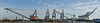 cape mohican panorama (pbo31) Tags: bayarea california nikon d810 color spring may pbo31 boury city urban oakland eastbay alamedacounty portofoakland sky crane ship marine shipping port harbor container panorama large stitched panoramic blue prescott