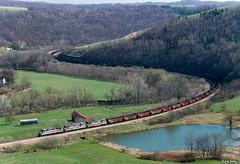 MGA 2306 South at Rogersville, PA (thechief500) Tags: mga railroads pa pennsylvania waynesburgsouthern